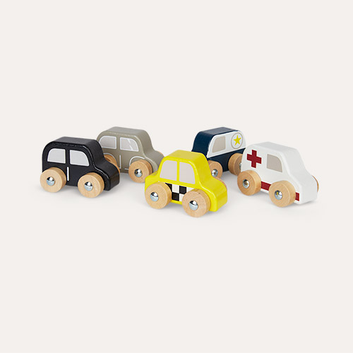Multi Bloomingville Toy Cars With Bag