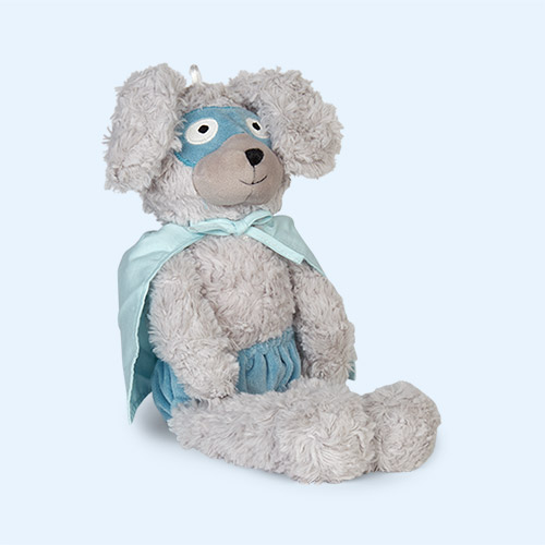Grey Bloomingville Plush Superhero Bunny
