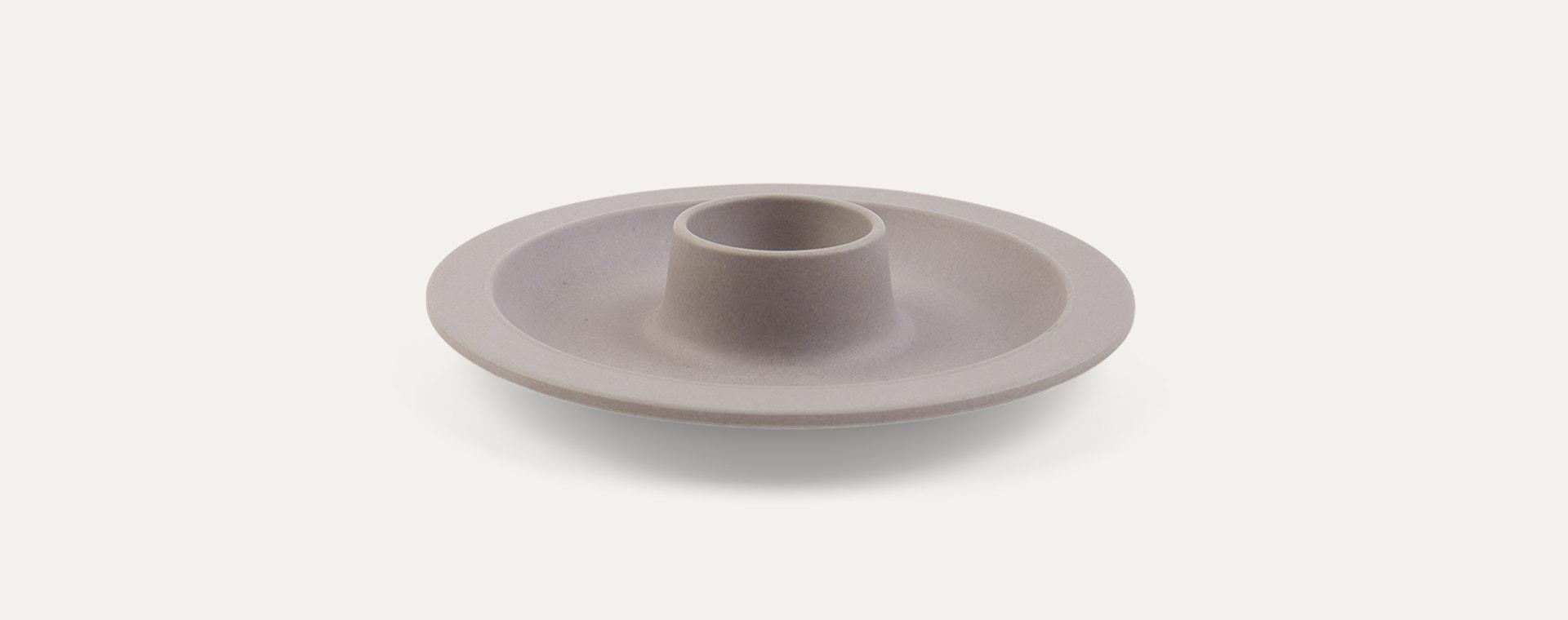 Grey Zuperzozial Dippy Egg Plate