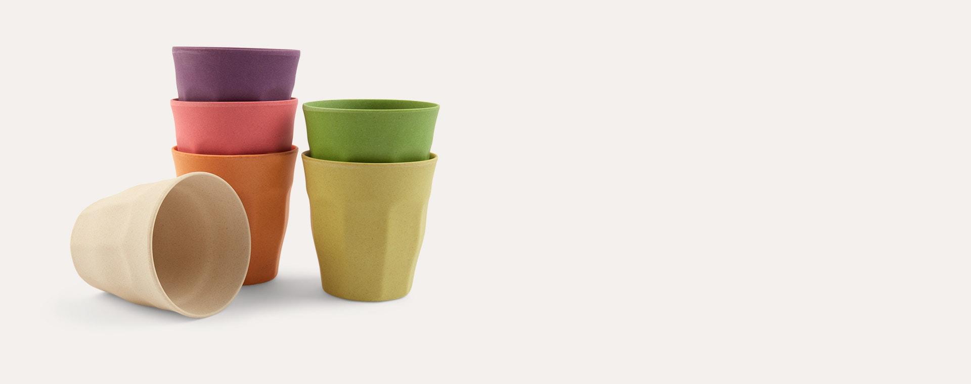 Rainbow Zuperzozial Medium Cups Set Of 6