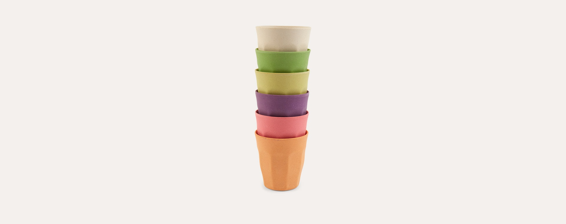 Rainbow Zuperzozial Medium Cups Set Of 6