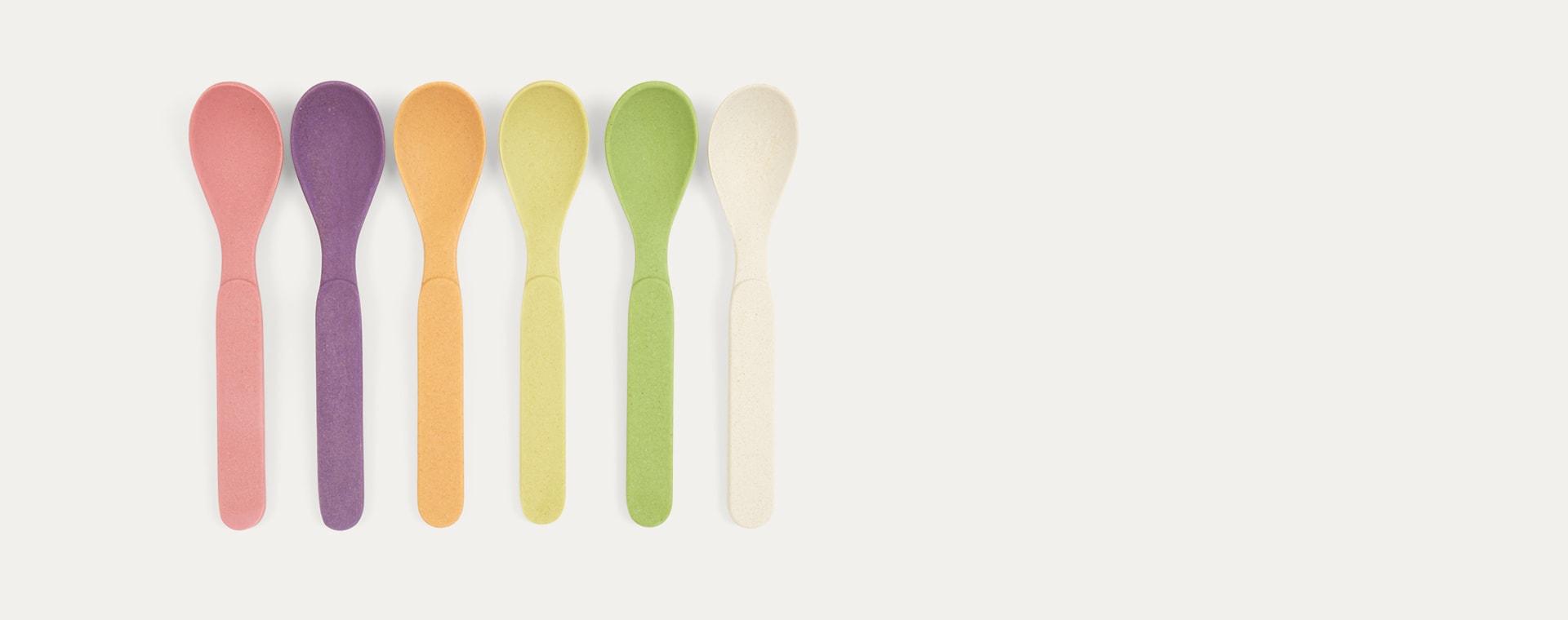 Rainbow Zuperzozial Spoons Set Of 6