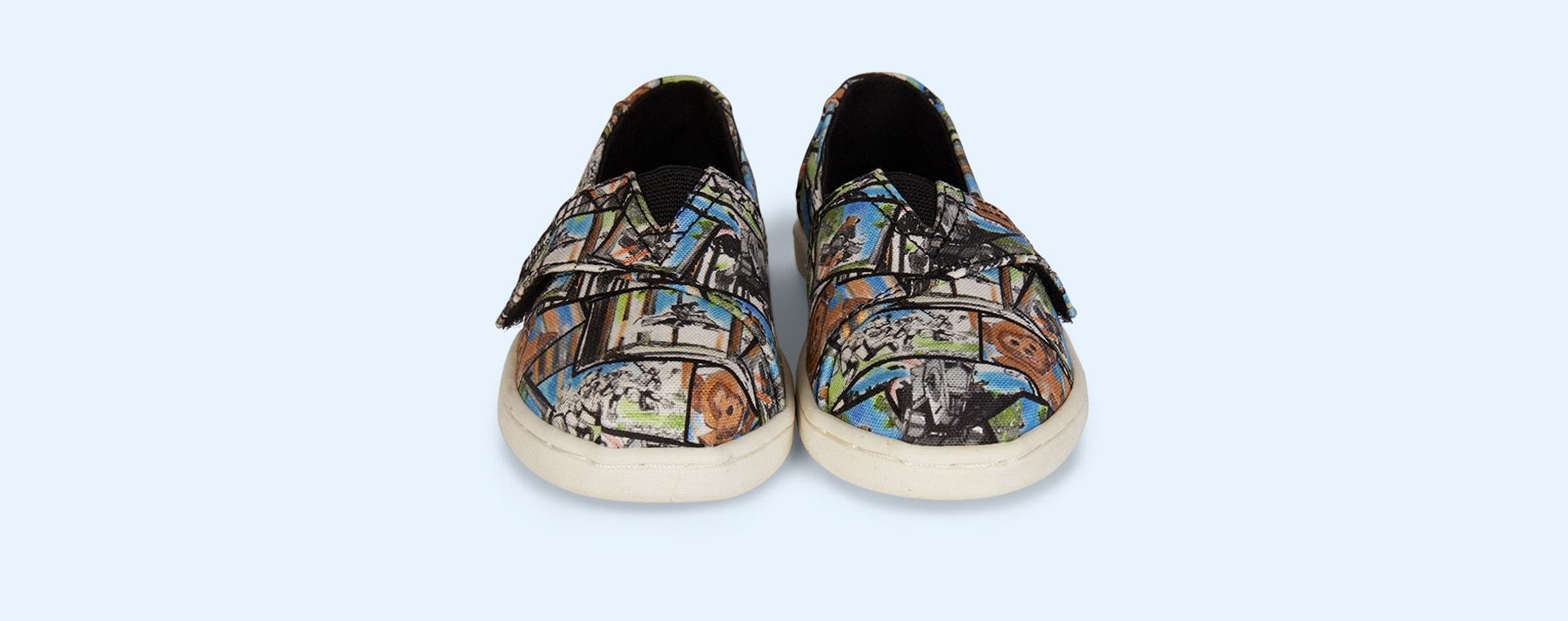 Multi TOMS Star Wars Ewok Print Alpargata Sneaker