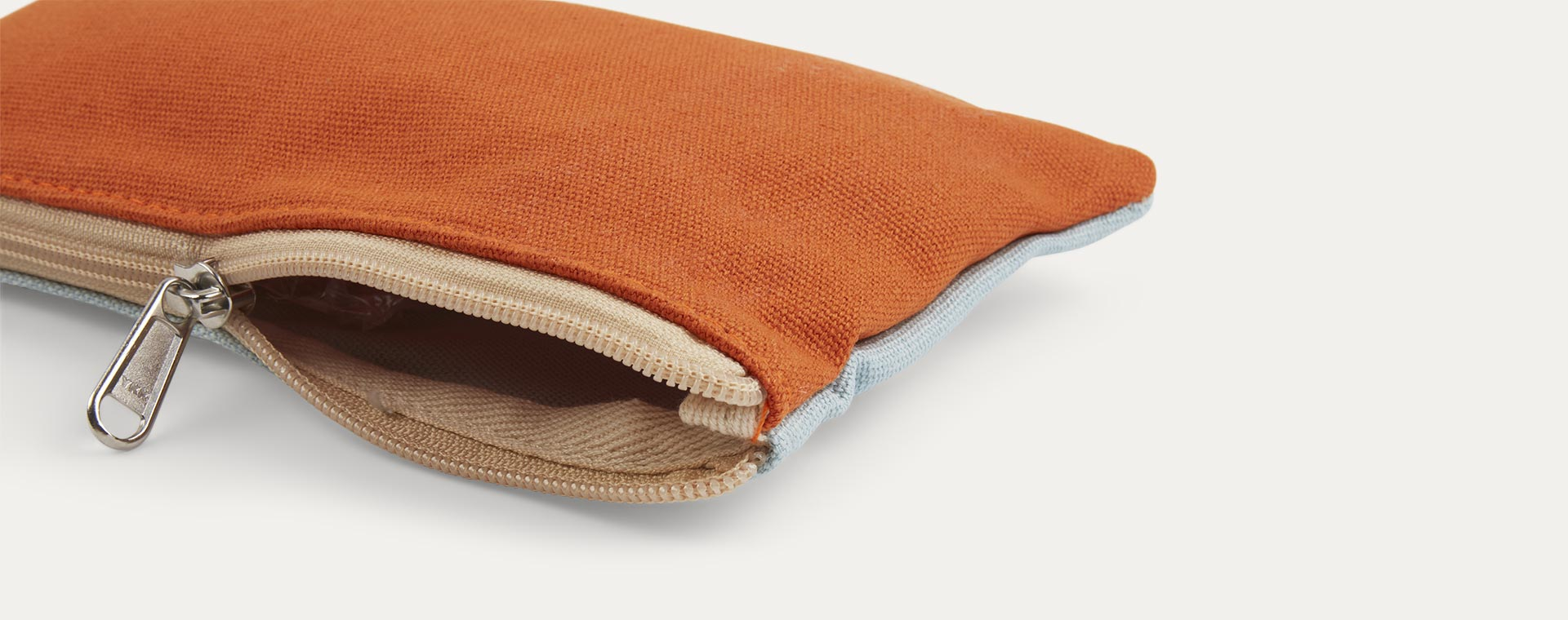 Orange & Lightblue Blafre Pencil Case
