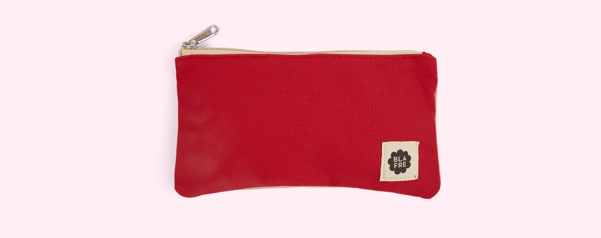 Red & Pink Blafre Pencil Case