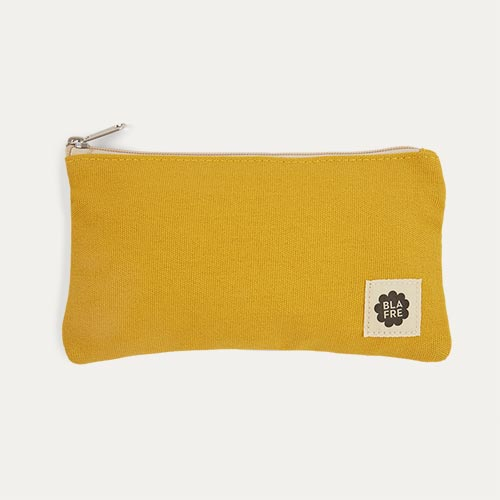 Yellow & Light Purple Blafre Pencil Case