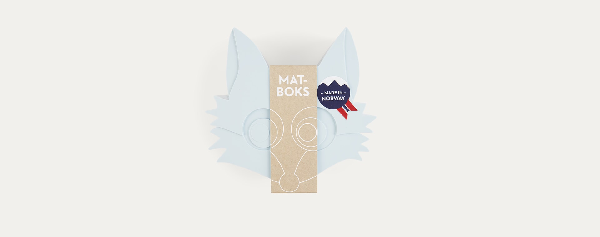 Light Blue Fox Blafre Snack Box