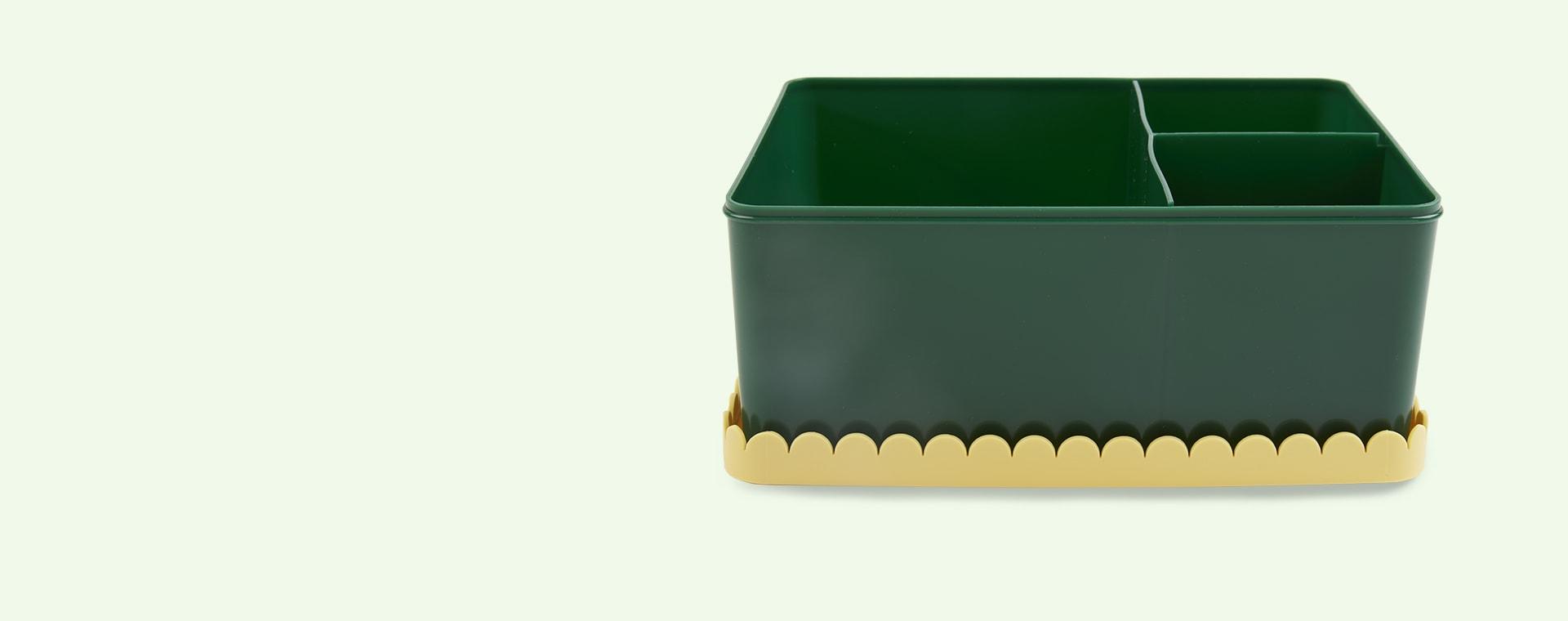 Dark Green & Yellow Blafre Lunchbox