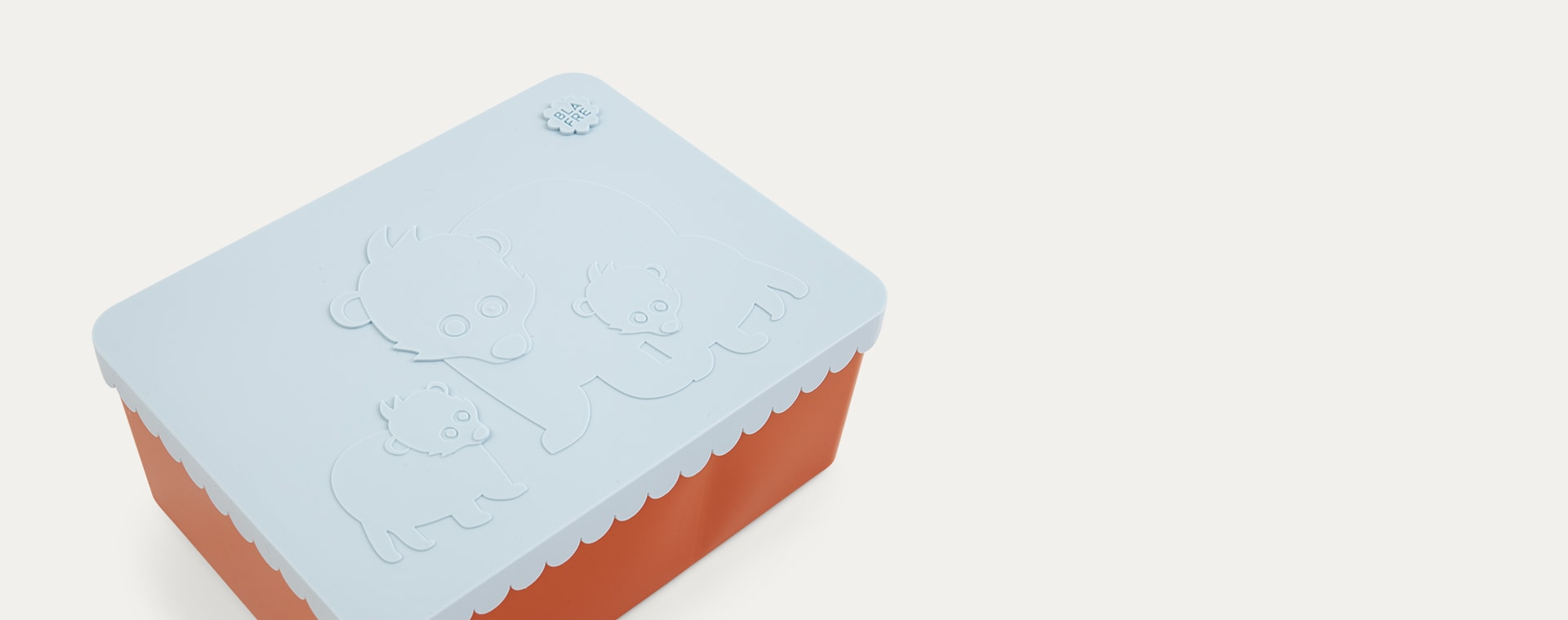 Orange & Lightblue Blafre Lunchbox