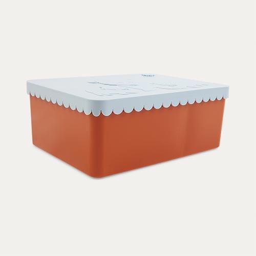 Orange & Lightblue Blafre Lunchbox