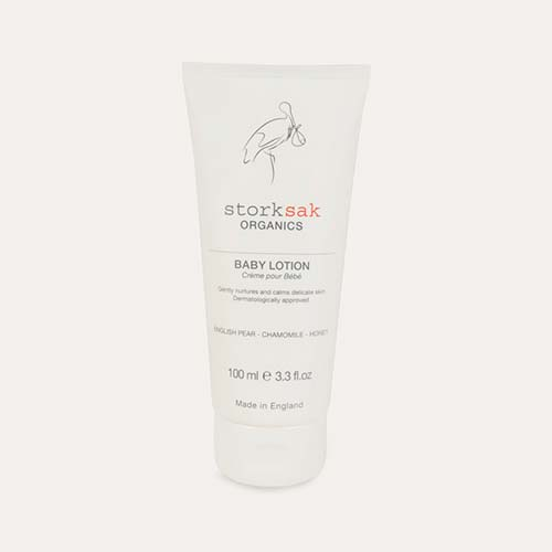 Clear Storksak Organics Baby Lotion 100 ml
