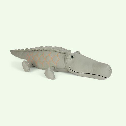 Green Jellycat Zaggy Crocodile
