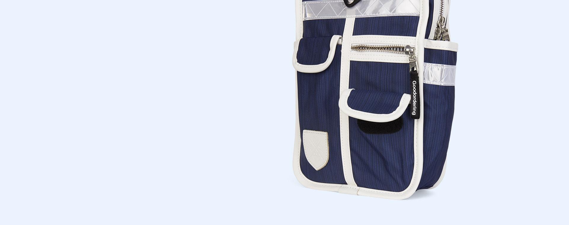 Navy Good Ordering Mini Backpack