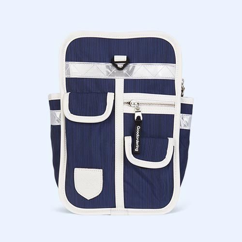 Navy Good Ordering Mini Backpack