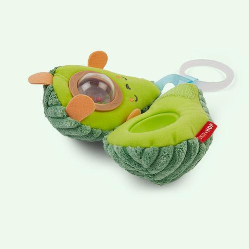 Green Skip Hop Avocado Stroller Toy