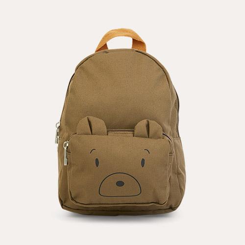 Mr Bear Khaki Liewood Saxo Mini Backpack