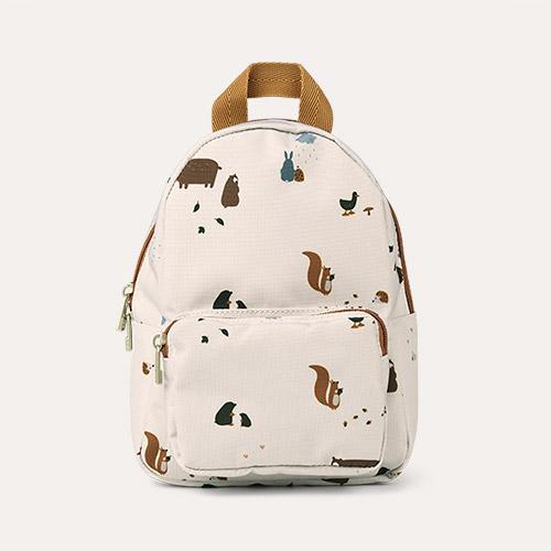 Friendship Sandy Mix Liewood Saxo Mini Backpack