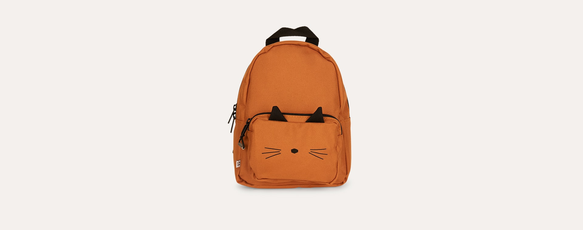 Cat Mustard Liewood Saxo Mini Backpack
