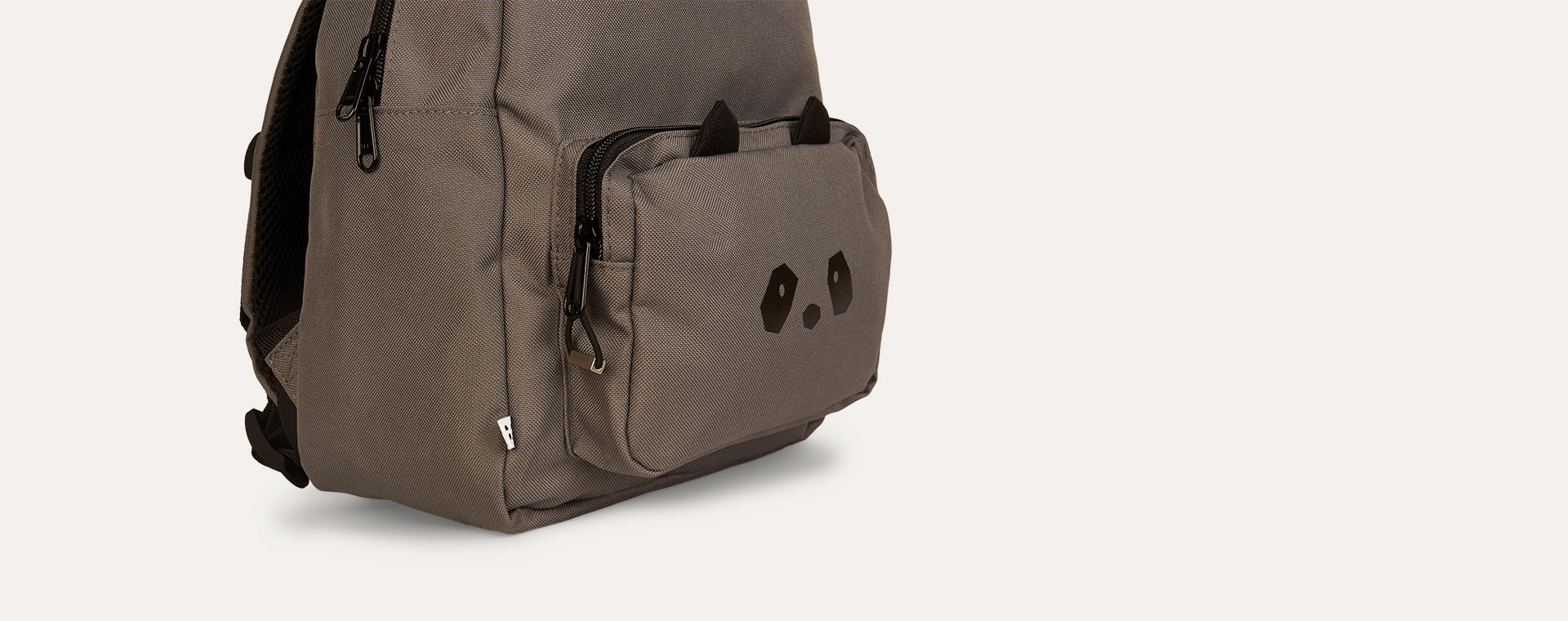 Panda Stone Grey Liewood Allan Backpack