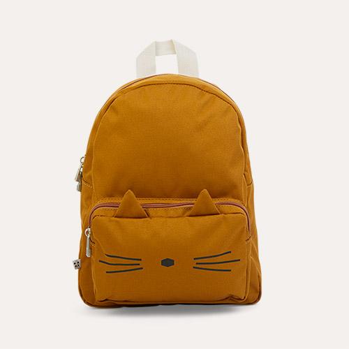 Cat Golden Caramel Liewood Allan Backpack