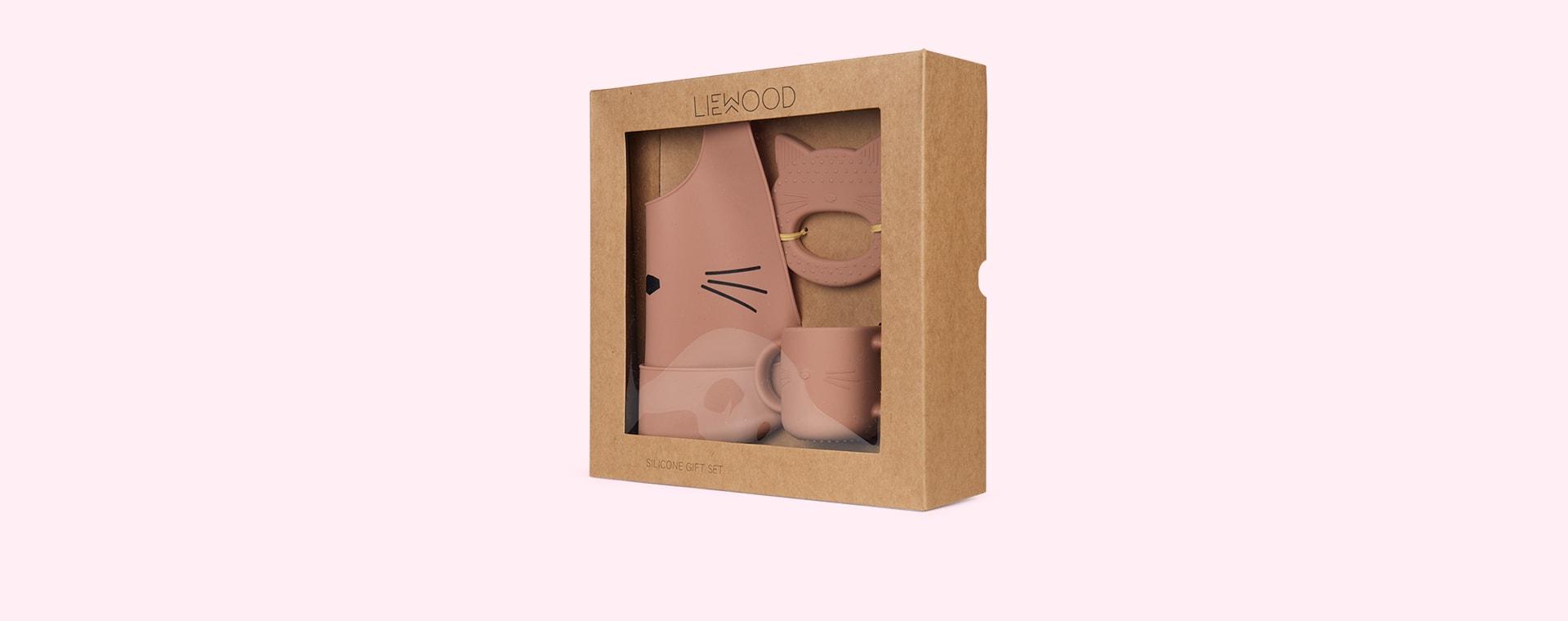 Cat Dark Rose Liewood Carol Gift Set