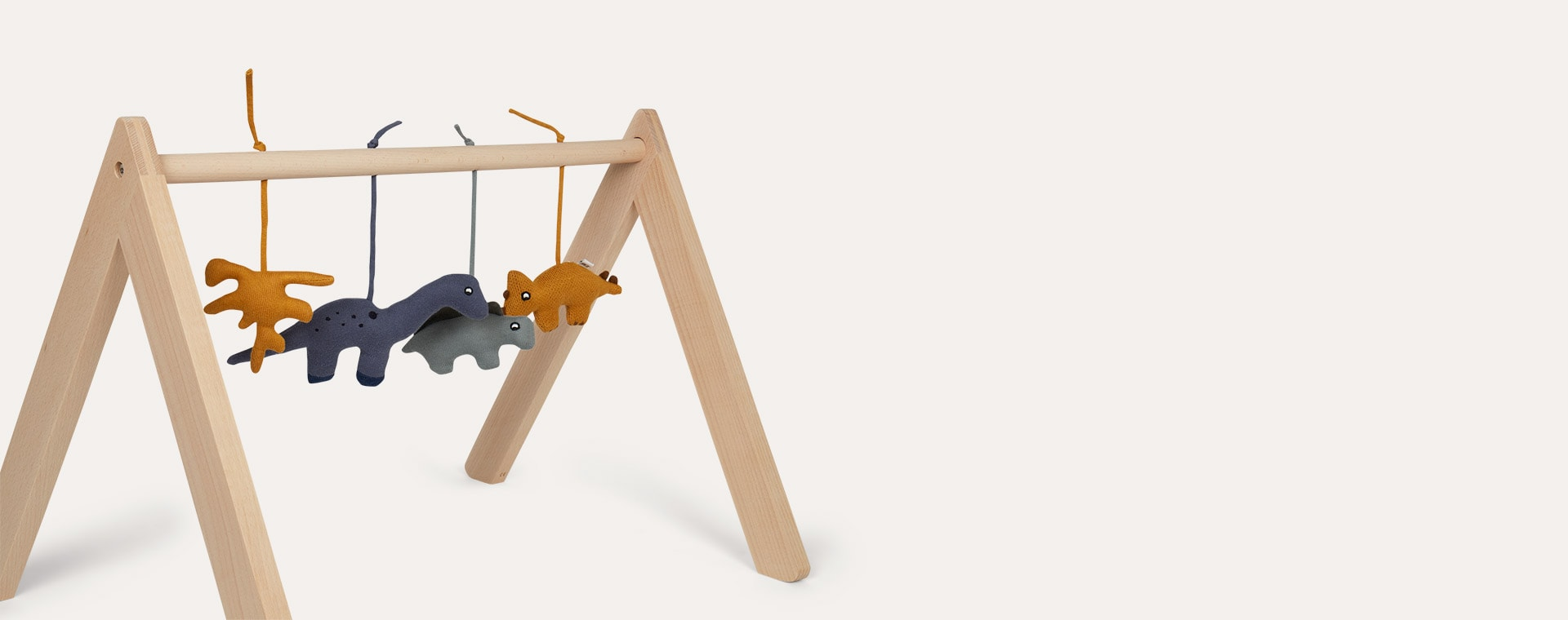 Neutral Liewood Wooden Play Gym
