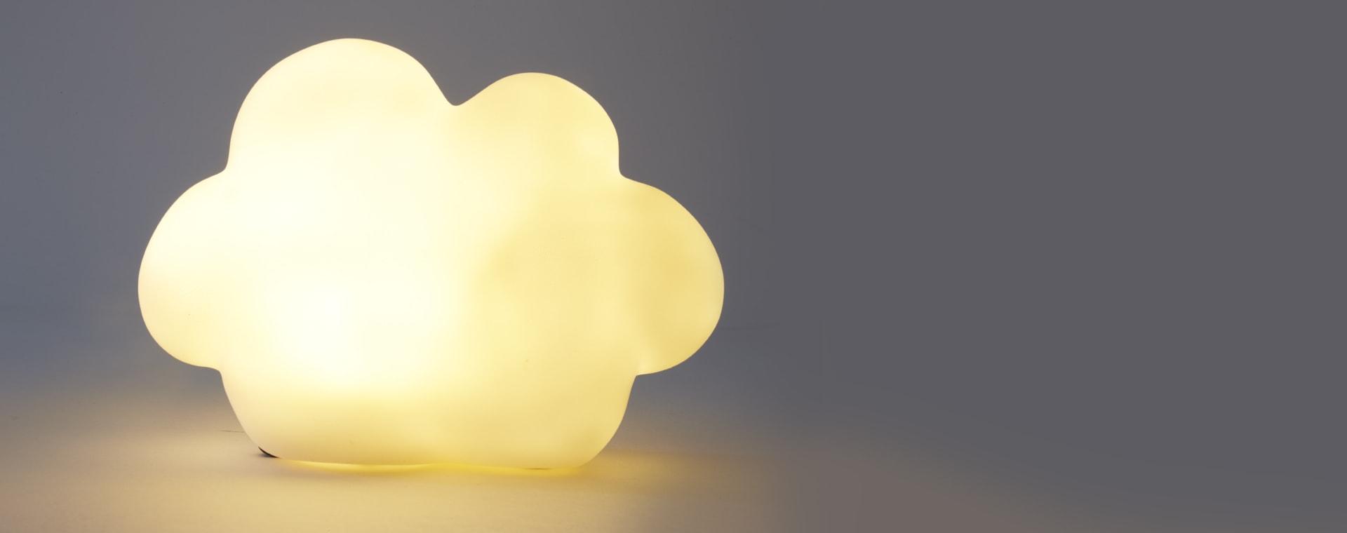 White Jabadabado Cloud Nightlight