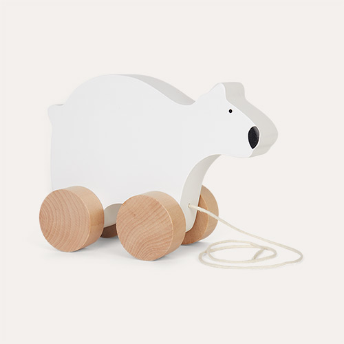 Polar Bear Jabadabado Wooden Pull Along Toy