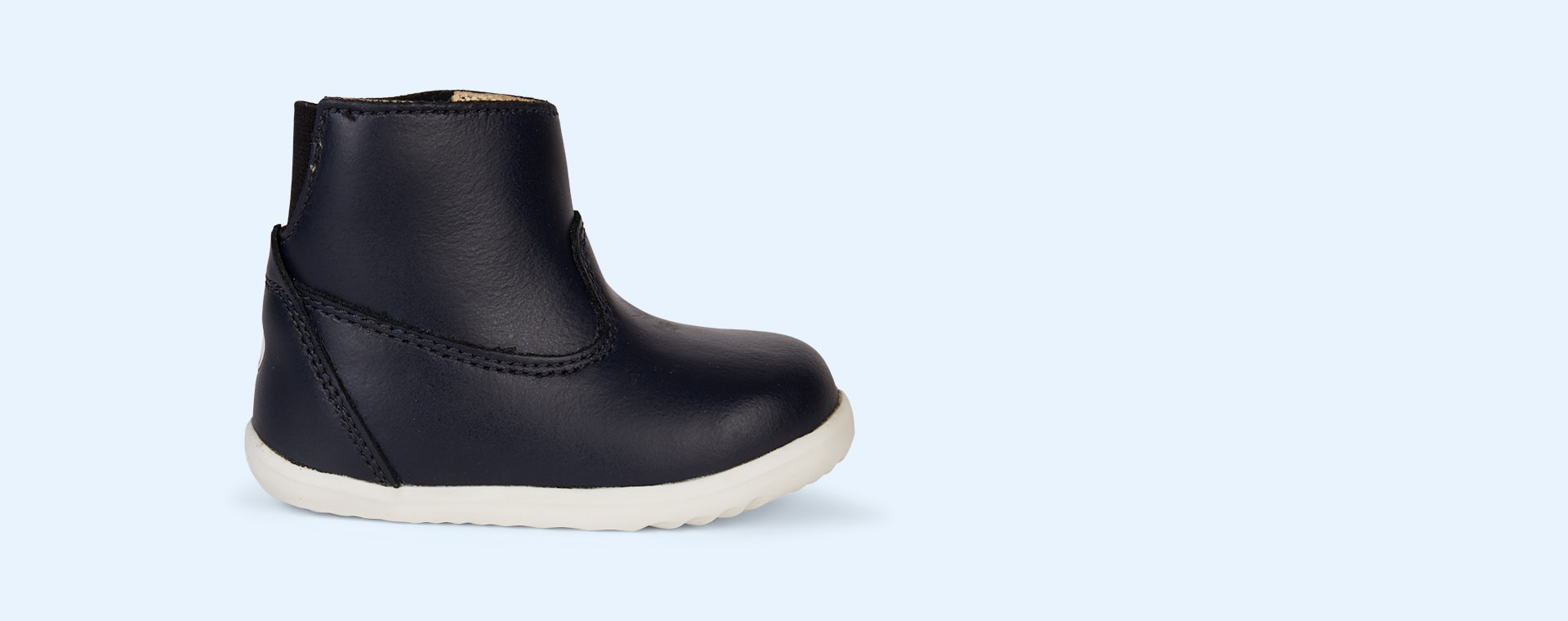 Navy Bobux Step Up Paddington Waterproof Boot