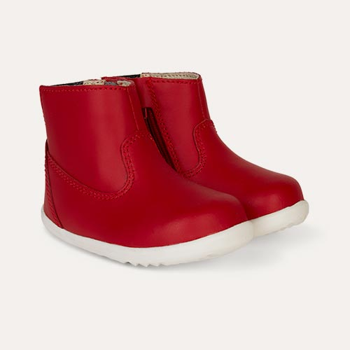 Red Bobux Step Up Paddington Waterproof Boot