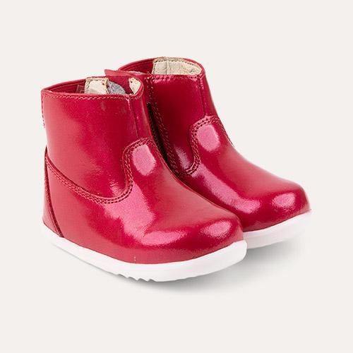 Cherry Bobux Step Up Paddington Waterproof Boot
