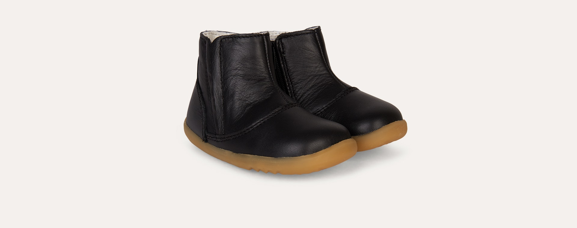 Black Bobux Step Up Shire Merino lined Winter Boot