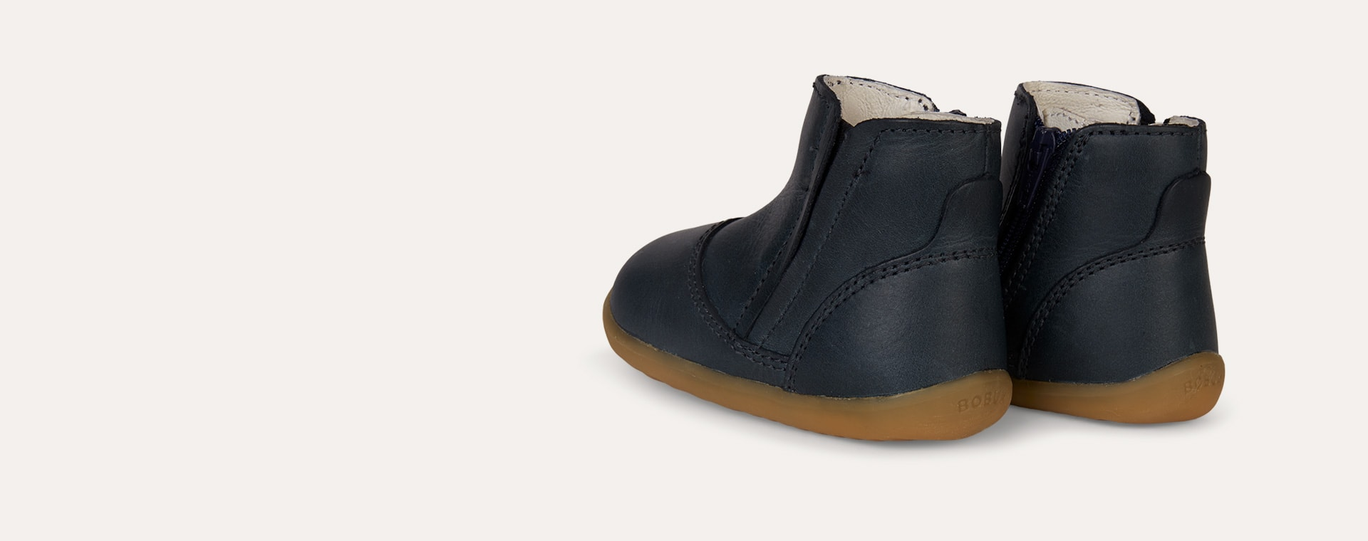 Ink Bobux Step Up Shire Merino lined Winter Boot