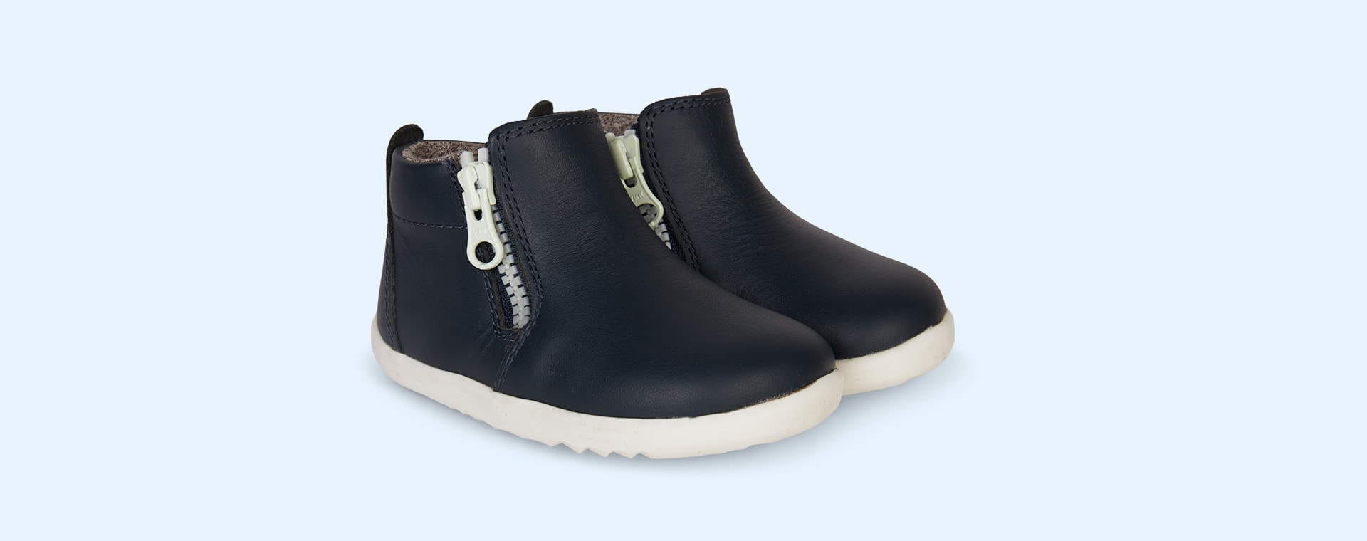 Navy Bobux Step Up Tasman Boot