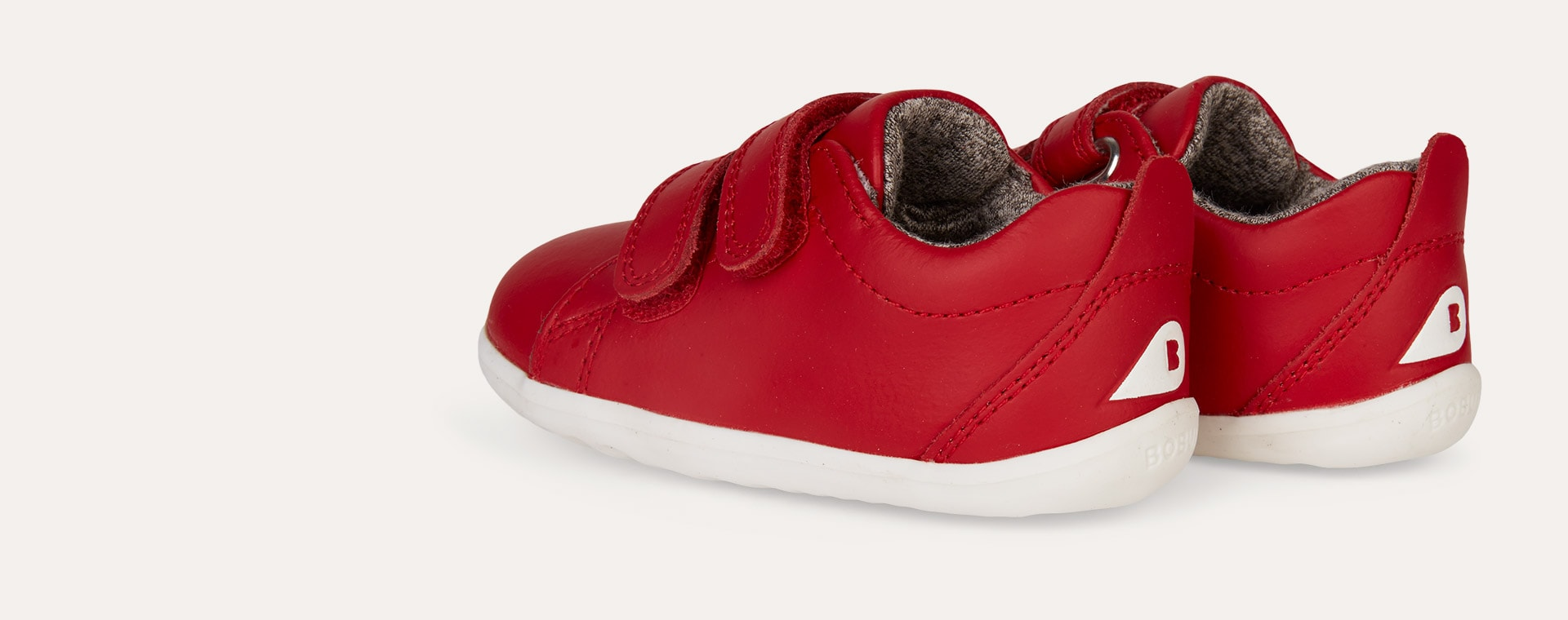 Red Bobux Step Up Grass Court - Waterproof