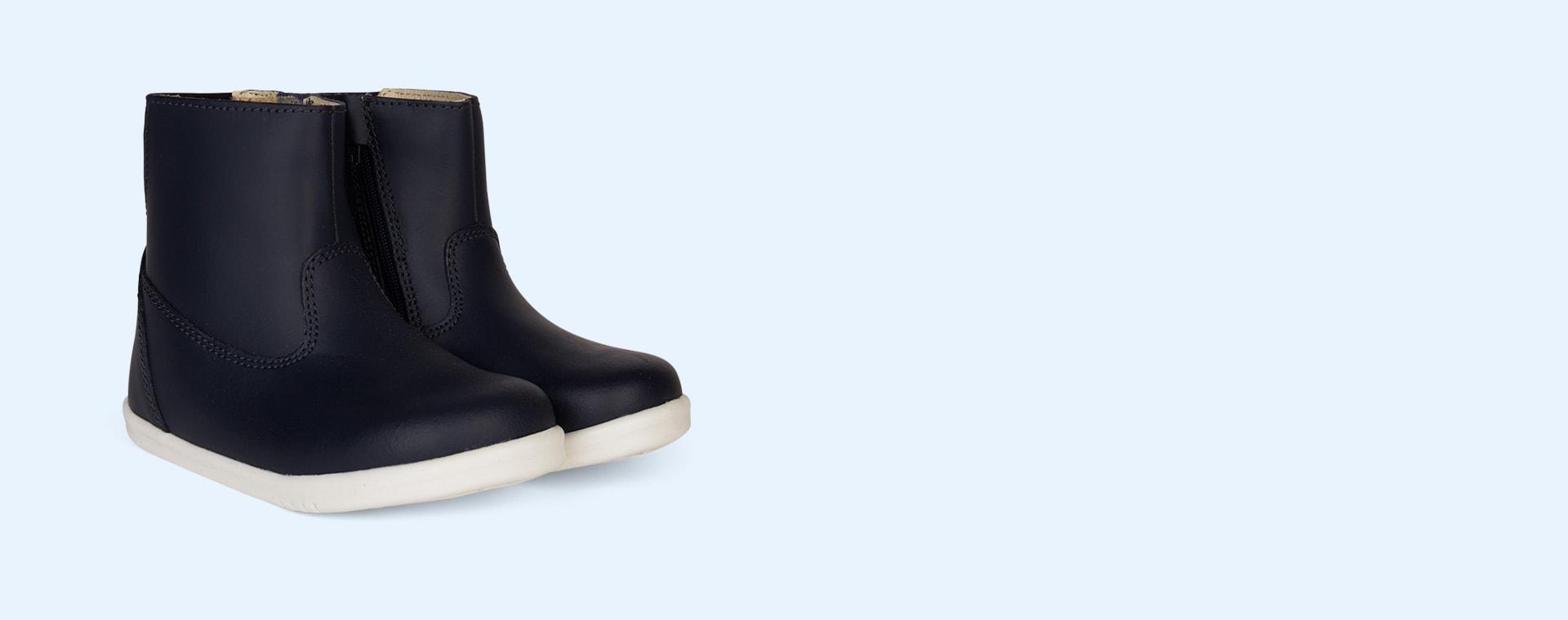 Navy Bobux I-Walk Paddington Waterproof Boot