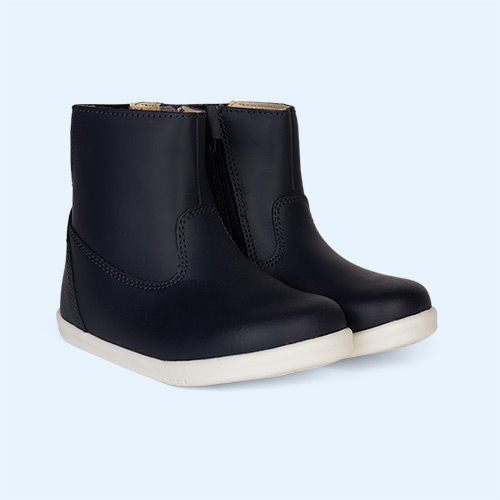 Navy Bobux I-Walk Paddington Waterproof Boot