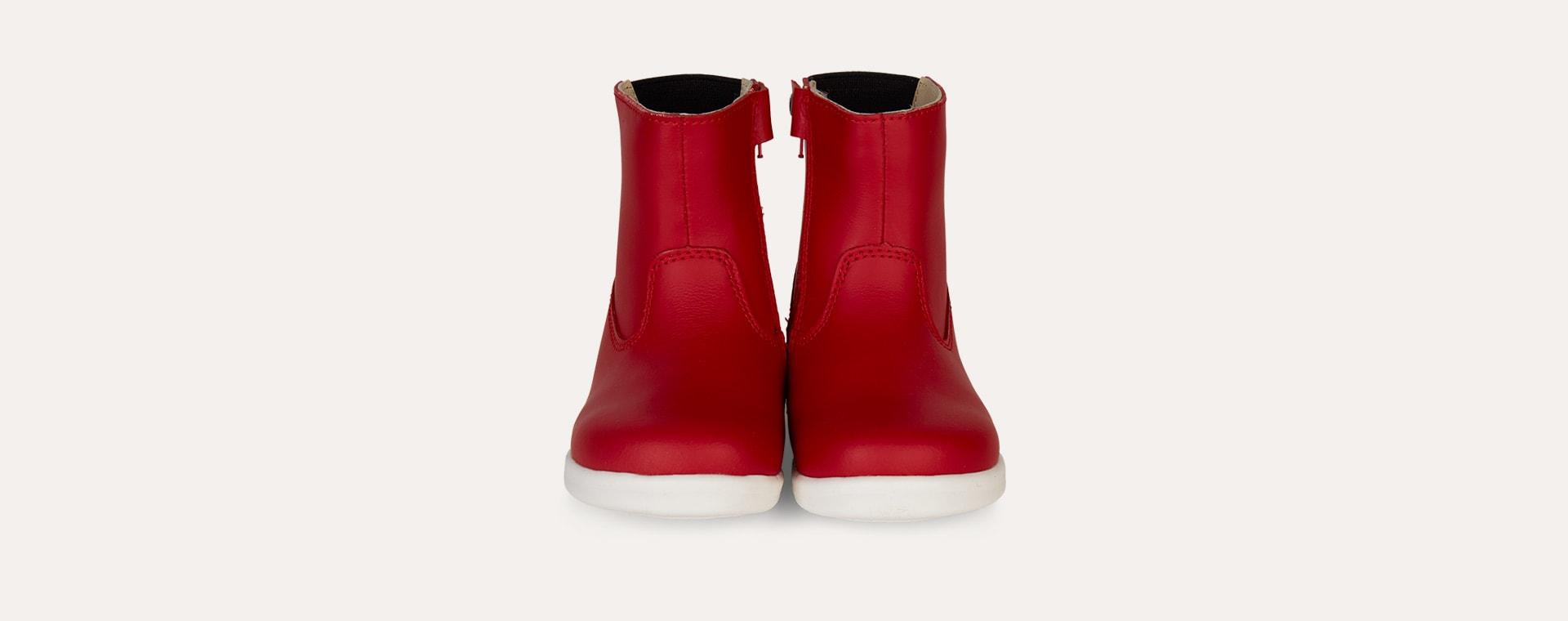 Red Bobux I-Walk Paddington Waterproof Boot