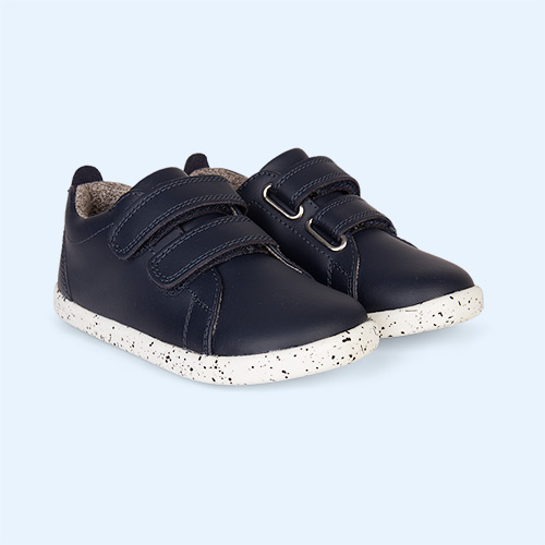 Navy Bobux I-Walk Grass Court - Waterproof