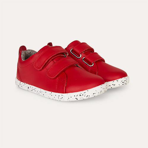 Red Bobux I-Walk Grass Court - Waterproof