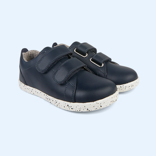 Navy Bobux Kid + Grass Court - Waterproof