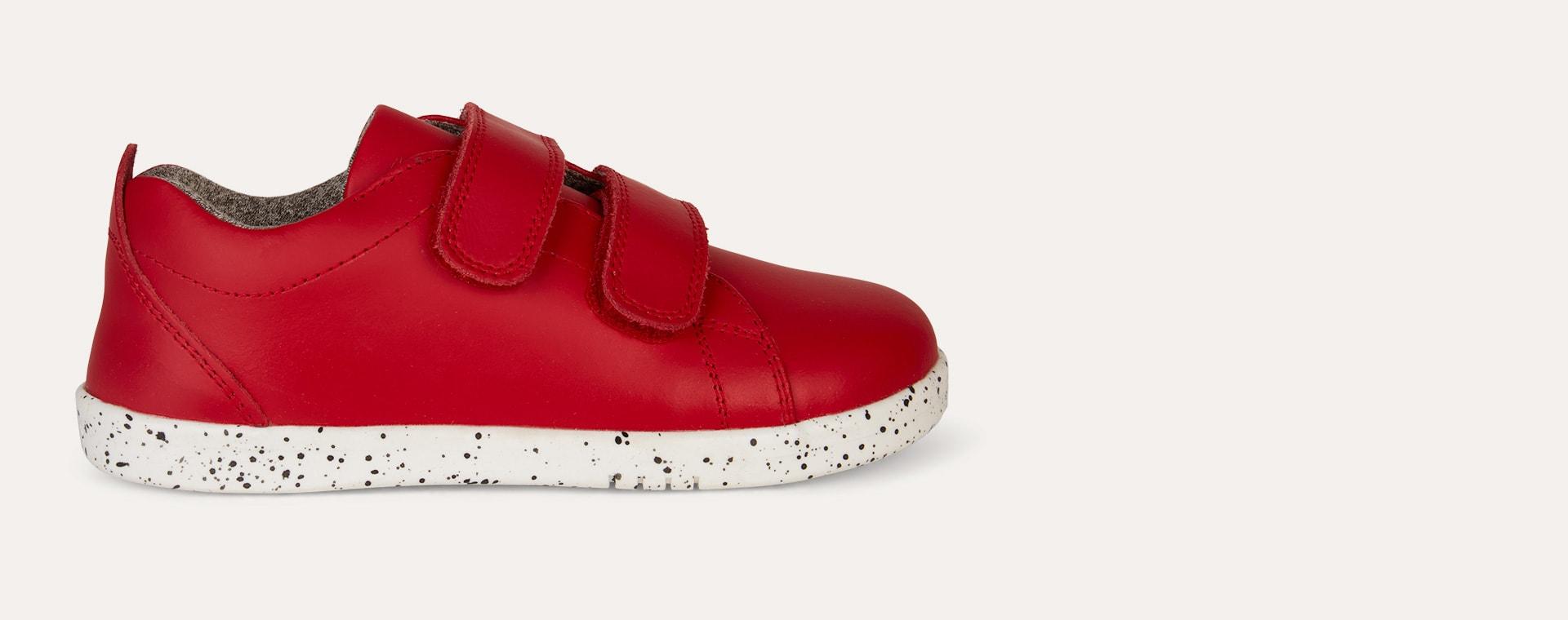 Red Bobux Kid + Grass Court - Waterproof