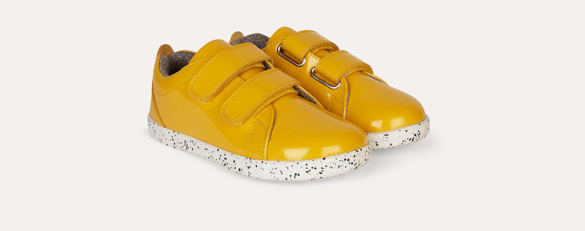 Yellow Bobux Kid + Grass Court - Waterproof