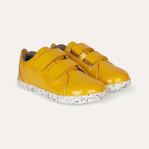 Yellow Bobux Kid + Grass Court - Waterproof