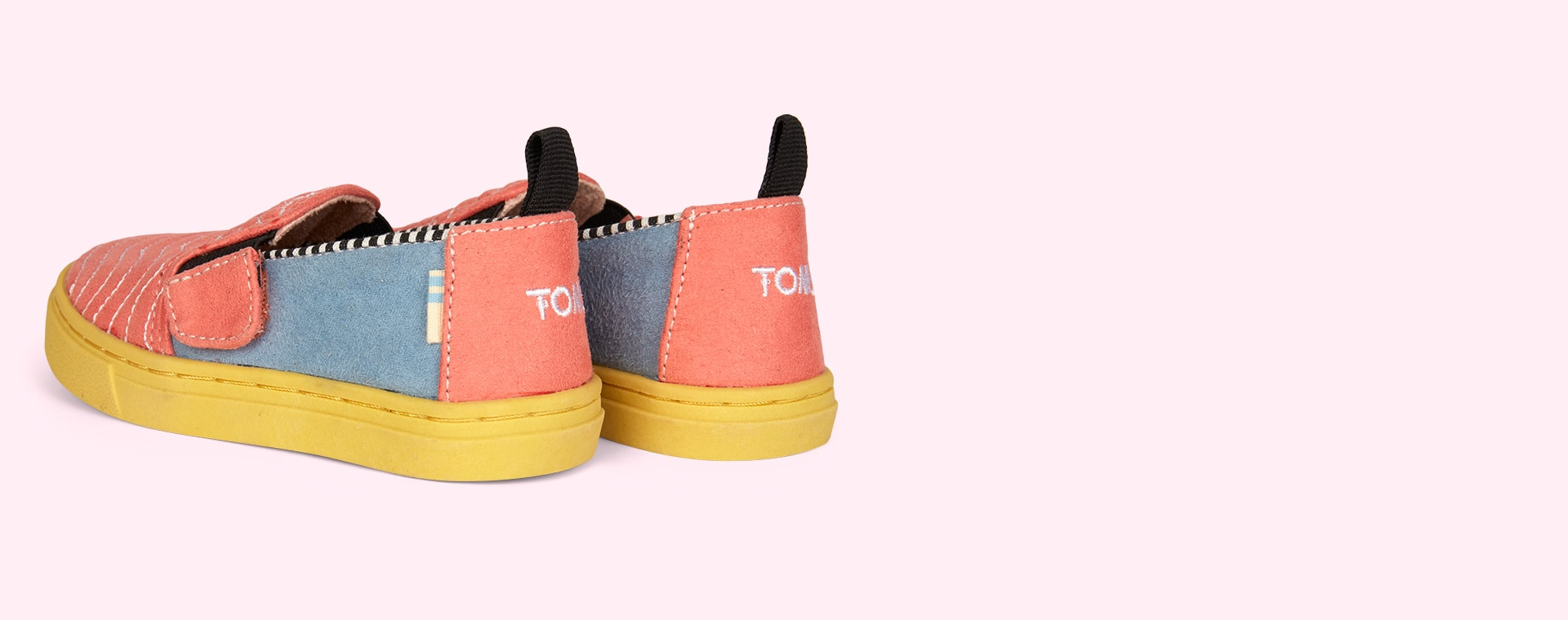 Multi TOMS Quilted Luca-Slip On Shoe