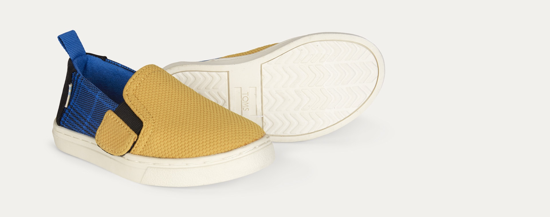 Yellow TOMS Knitted Luca Slip-On Shoe