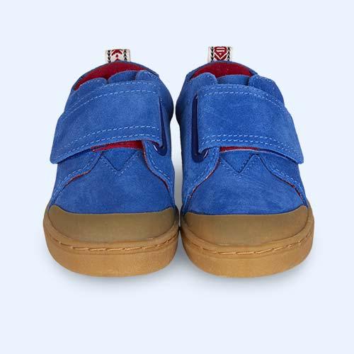 Blue TOMS Suede Lenny Sneaker