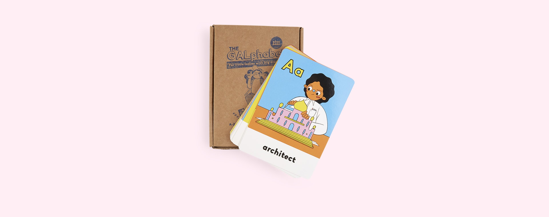 Multi Boss Babs The GALphabet ABC Flash Cards