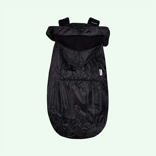 Black Bundle Bean Baby Wearing Cover