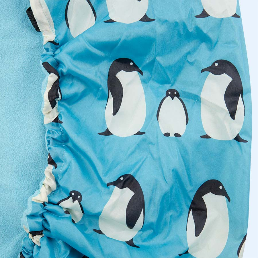 Penguin Bundle Bean Baby Wearing Fleece Lined Cover